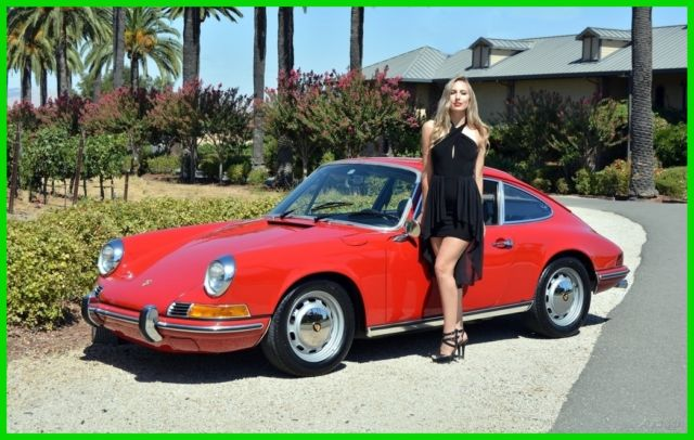 1969 Porsche 911 911T KARMANN COUPE
