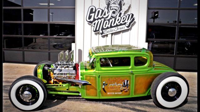 Gas Monkey Garage : Gas monkey garage custom model a for sale photos technical