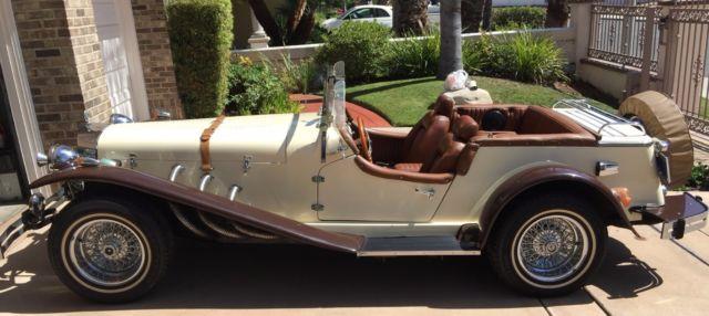 Gazelle 1929 Mercedes Gazelle Convertible Roadster Kit Car For Sale