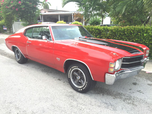 1971 Chevrolet Chevelle SS454 LS-5 Matching Numbers