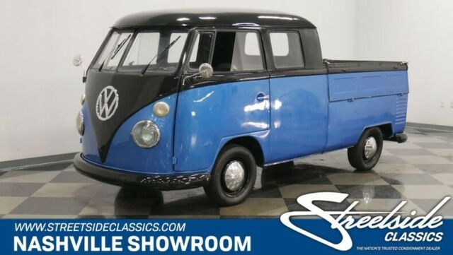 German built rarely seen split window double cab with factory glass