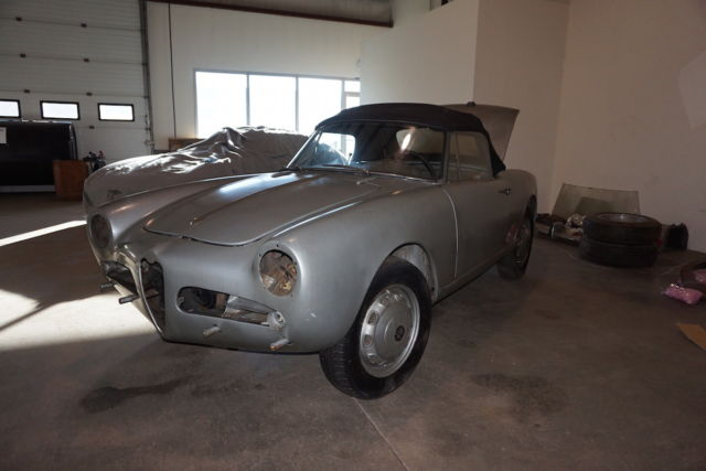 1960 Alfa Romeo Other Silver