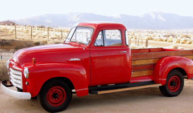 1951 GMC Other 5 WINDOW WOODY BED