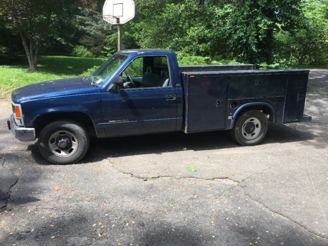 Gmc 2500 Reading Bed Work Truck Jasper Engine For Sale Photos
