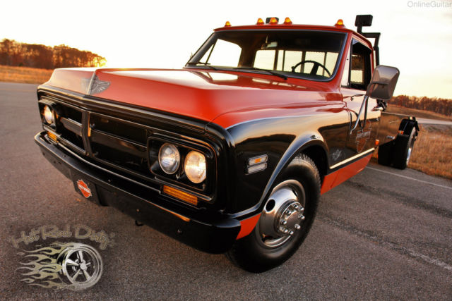Gmc C30 Tow Truck Car Hauler Wedge Ramp Truck Pickup C10 3100 Hot