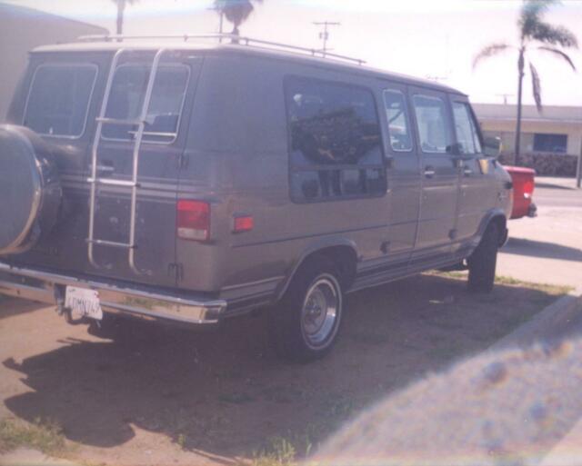 Conversion Van Parts >> Gmc Chevy G20 1986 Factory Conversion Van Camper Stored