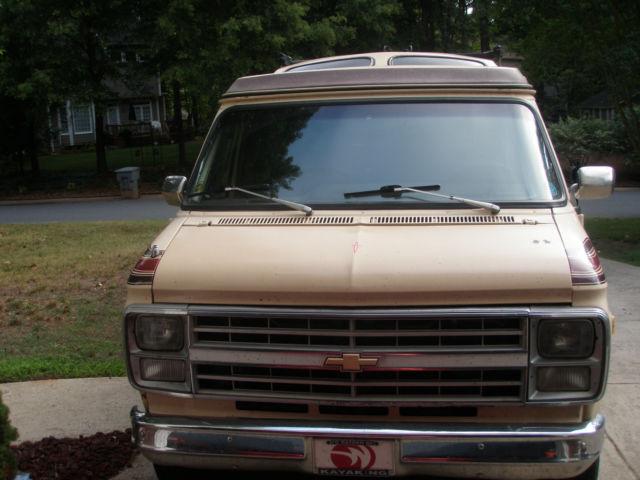 GMC G2500 Vandura Conversion Van