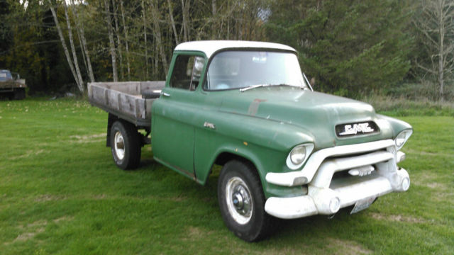 gmc napco 3 4 ton flatbed 1955 1956 1957 1958 1959 chevy truck john deere for sale photos. Black Bedroom Furniture Sets. Home Design Ideas
