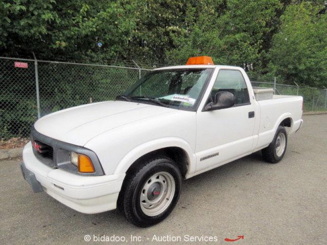 Gmc Sonoma Pickup Truck 4 3l V6 Vortec Auto Beacon Light Reg Cab Low Mile 38k