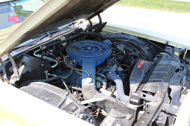 Gold and creme luxury edition 1976 ford thunderbird for sale photos technical specifications