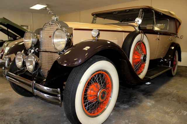 1930 Packard Phaeton Dual Windshield