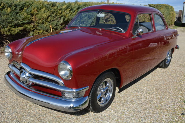 GORGEOUS 1950 FORD CUSTOM 2-DOOR SEDAN u2013 RESTORED STREET ROD / SHOW CAR : 1950 ford car for sale - markmcfarlin.com