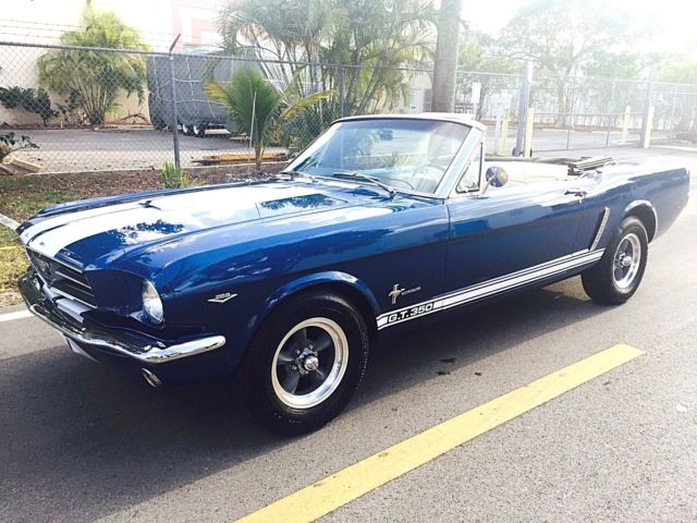 1965 Ford Mustang Shelby GT350 Package