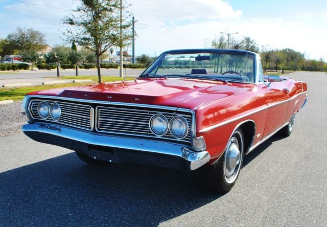 1968 Ford Galaxie Simply mint Beautiful Candy Apple Red 390 V8