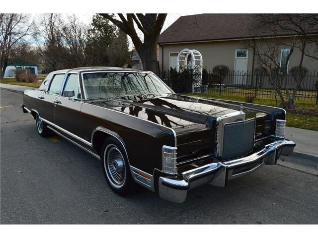 1979 Lincoln Continental Town Car Luxury