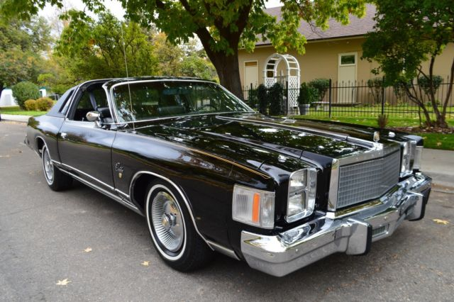 1978 Chrysler Other T-TOP COUPE
