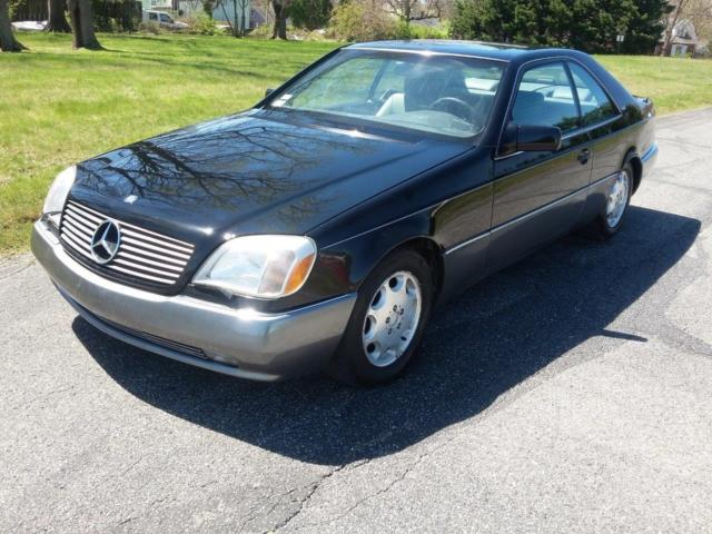 1994 Mercedes-Benz S-Class Base Coupe 2-Door