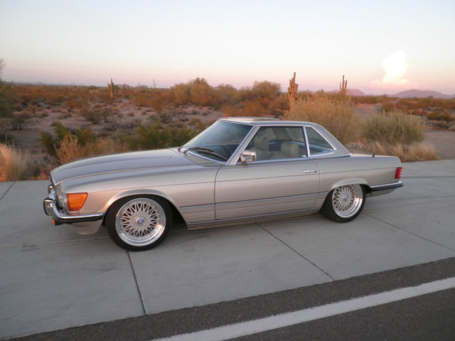 1980 Mercedes-Benz 400-Series 450SL Convertible