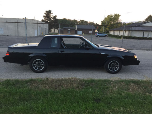 1987 Buick Grand National GRAND NATIONAL