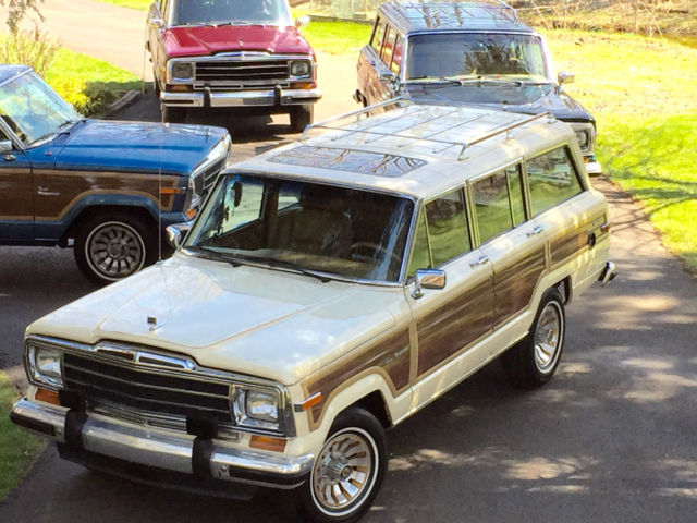 1986 Jeep Wagoneer GRAND WAGONEER BY CLASSIC GENTLEMAN