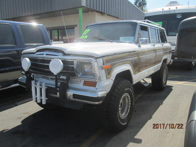 grand wagoneer lifted 4x4 low reserve for sale photos technical specifications description topclassiccarsforsale com