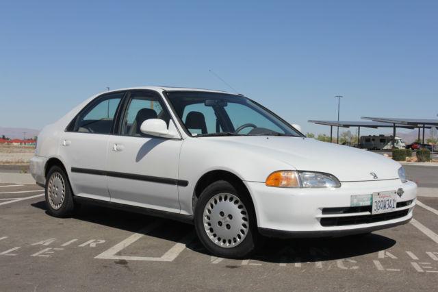 Grandma S White 1994 Honda Civic Ex 4 Door V Tec Sunroof