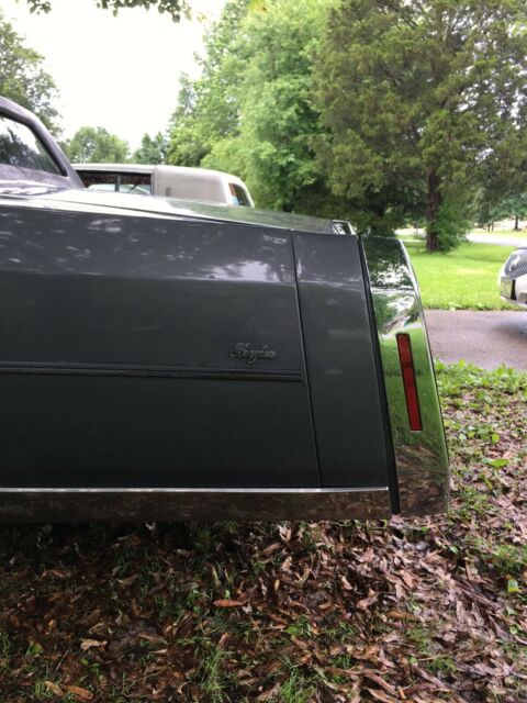 1985 Gray Cadillac Brougham Cab & Chassis with Gray interior