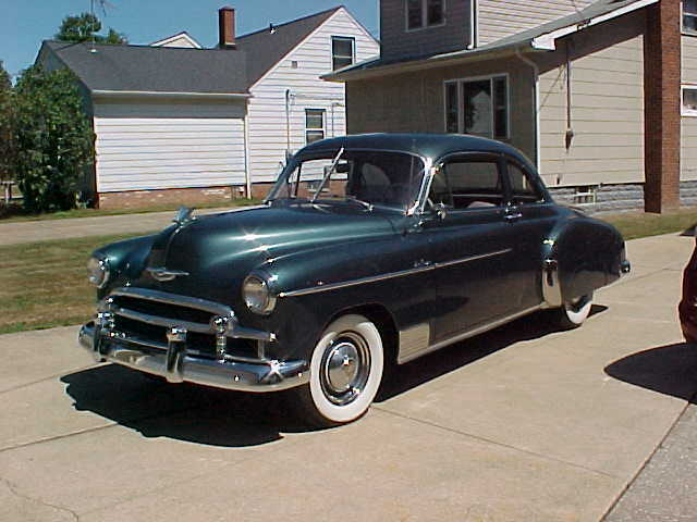 1950 Chevrolet Bel Air/150/210 Deluxe Package