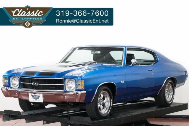 1971 Chevrolet Chevelle SS clone in a great color and 454 power we ship