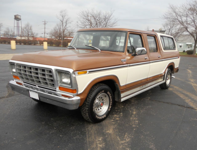 1978 Ford Bronco Custom XLT! NO RESERVE! HIGHEST BID WINS IT!