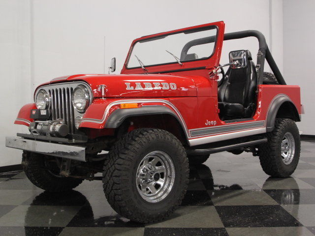 1984 Jeep CJ 7 Laredo