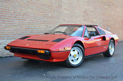 1984 Ferrari 308 GTS !!! LOW MILES !!! LIKE NEW !!! VERY COLLECTIVE