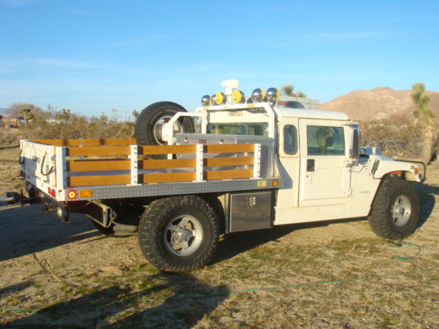 H1 Hummer 2 Door With Custom Bed To Carry Atvs For Sale