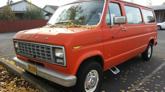 1979 Ford E-Series Van