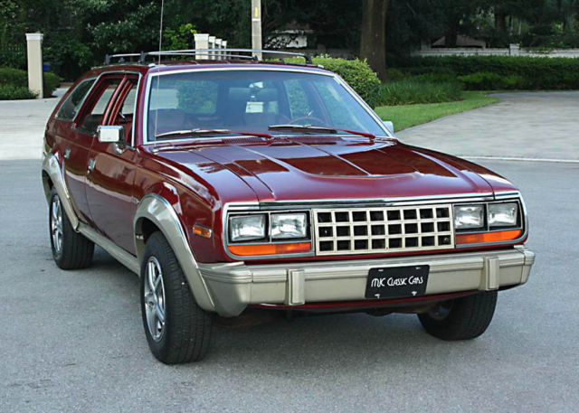 1985 AMC EAGLE 4x4 WAGON - REFRESHED COSMETICS - 5K MI