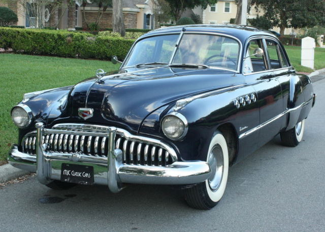 1949 Buick Roadmaster TOURING SEDAN - STRAIGHT EIGHT - 50K MI