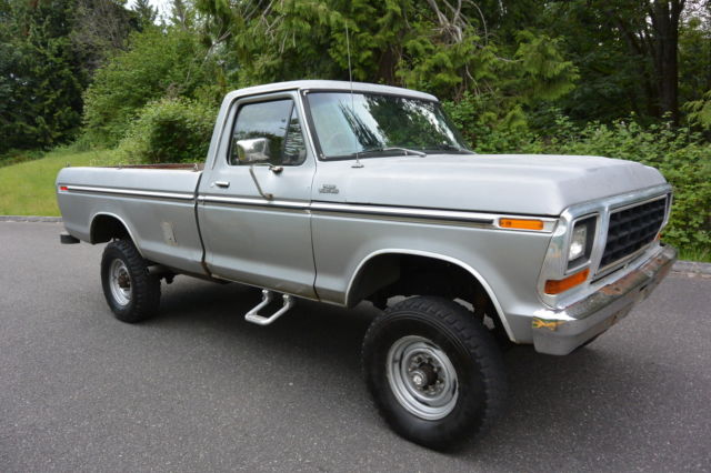 1979 Ford F-250 NO RESERVE!!