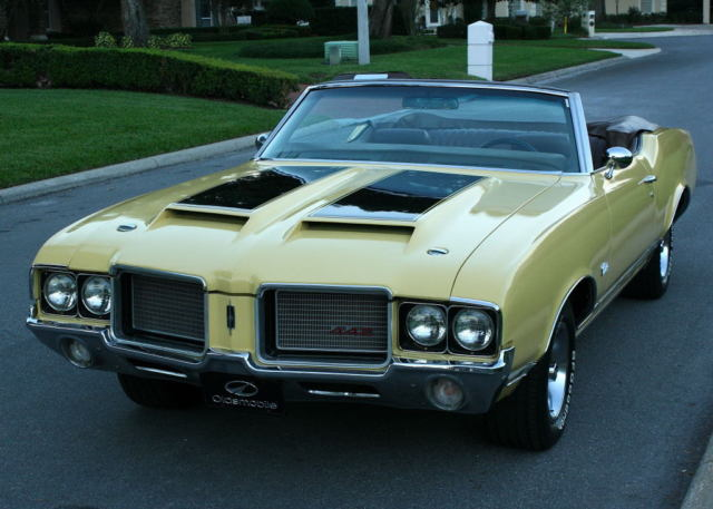 1972 Oldsmobile Cutlass CONVERTIBLE - A/C - 71K MILES