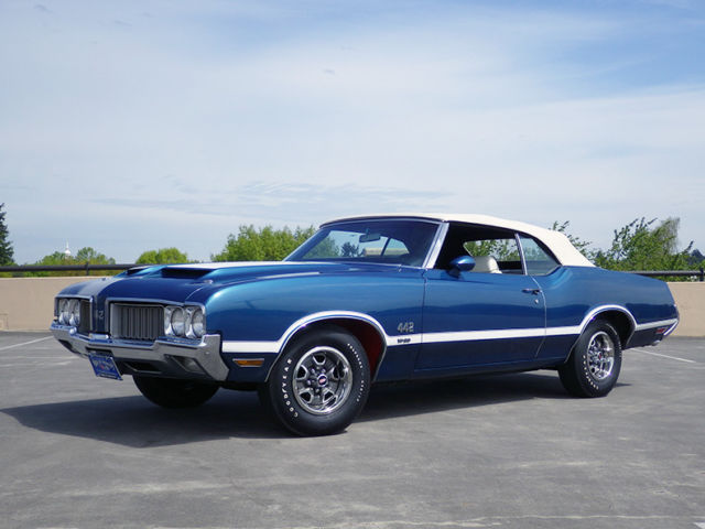 1970 Oldsmobile 442 W-30 Convertible, matching #s