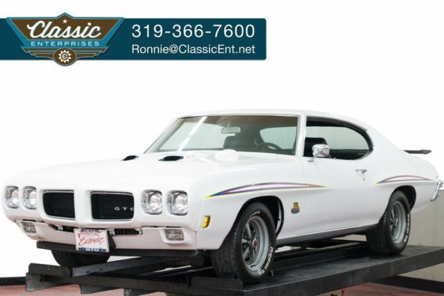 1970 Pontiac GTO Documented Ram Air III air conditioning and tilt