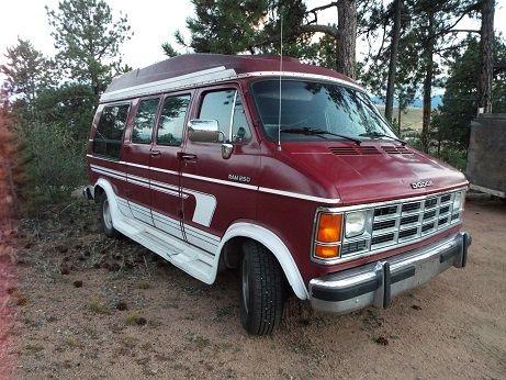Hightop Conversion Van Family Or Camper Setup