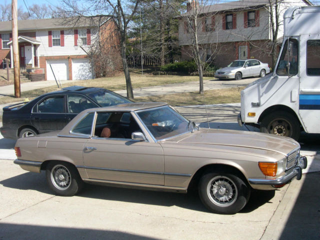 1973 Mercedes-Benz 400-Series 450SL