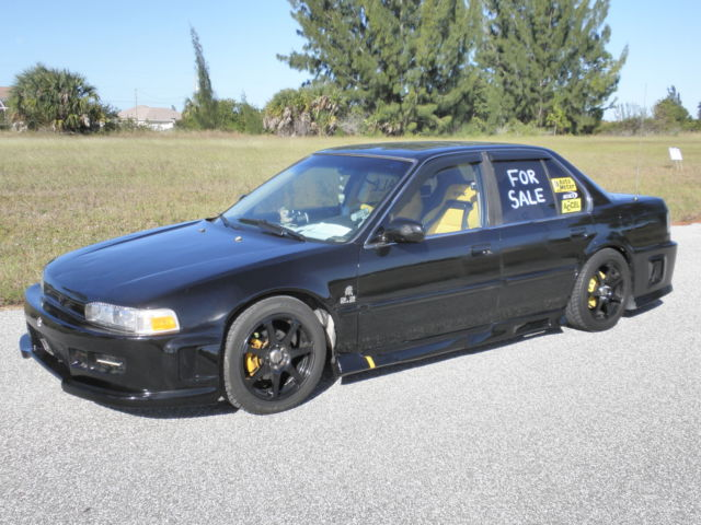Honda Accord 1990 4dsd Tricked Out For Sale Photos Technical