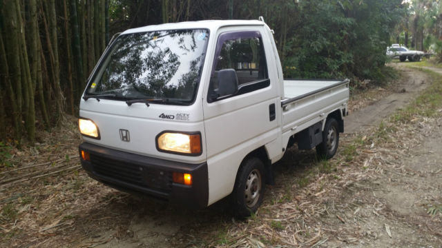 1990 Honda Acty Pick Up