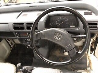 1990 White Honda Other with Gray interior