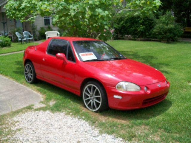 Honda Civic Delsol Convertible Gas Saver For Sale Photos