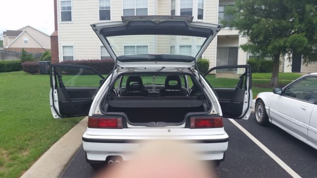 Honda: Civic Si CLASSIC 1990 (CLEAN, STOCK, GREAT CONDITION