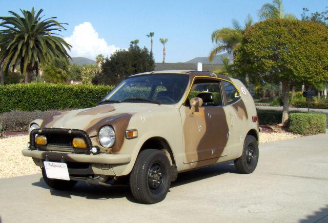 Honda z600 Coupe,22,274 miles on engine and vehicle ...