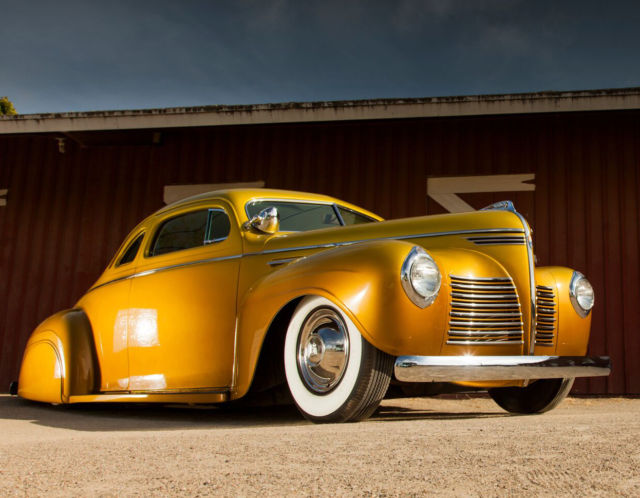 1940 Plymouth p10 deluxe business coupe