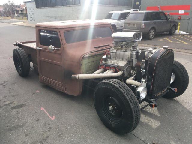 hot rod rat rod 1956 willys hot rod rat rod truck 355 chevy blower Chevy 305 Motor hot rod rat rod 1956 willys hot rod rat rod truck 355 chevy blower motor